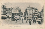 AMIENS - La Place Gambetta (tramways) - Amiens