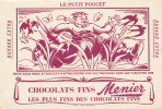 BU 690/BUVARD CHOCOLATS MEUNIER  -LE PETIT POUCET - Cocoa & Chocolat