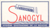 BU 711/BUVARD   DENTIFRICE SANOGYL - Parfums & Beauté