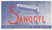 BU 712/BUVARD   DENTIFRICE SANOGYL - Parfums & Beauté