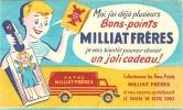 """Buvard - MILLIAT Frères - Moi J´ai Déjà Plusieurs """"Bons Points"""" ...... - Alimentaire"""