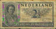 Pays-Bas - 2 1/2 Gulden - Van 04.02.1943 En 18.05.1945 - Non Classés