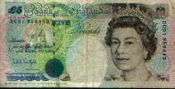 ROYAUME-UNI : 5 Pounds (1990) - Groot-Brittannië