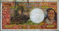 FRANCE D´OUTREMER : 1000 Fr - France