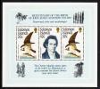 Solomon Islands Scott #556 MNH Souvenir Sheet Audubon Bicentenary - Salomon (Iles 1978-...)