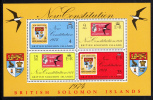 British Solomon Islands Scott #279a MNH Souvenir Sheet New Constitution - Salomonseilanden (...-1978)