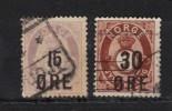 NORVEGE N° 58 & 59 Obl. - Norvège