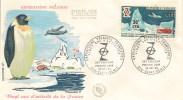 (c) Enveloppe 1er Jour Expeditions Polaires Françaises - Lettres & Documents
