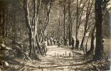 JEU DE QUILLES Carte Photo Hopital Militaire Guerre 1914-18 Partie De Quilles - Regional Games