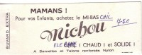 BUVARD - MICHOU - ACHETEZ LE MI-BAS.... - Blotters