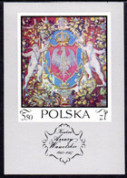 POLAND 1970 Tapestries 5.50 Zl.  Block  MNH / ** . Michel Block 43 - 1944-.... Republic