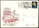 PALLAMANO - ROMANIA TIMISOARA 1991 - POLI TIMISOARA CAMPIONA NAZIONALE HANDBALL 1990/1991 - BUSTA VIAGGIATA - Pallamano