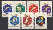Ungheria 1960 Y.T. 1353/59 **/MNH VF - Unused Stamps