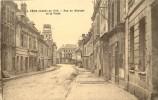 02 LA FERE EN 1919 LA RUE DU BOURGET ET LA POSTE - France