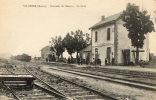 VILOSNES (55) Vue Intérieure De La Gare Du Chemin De Fer - Non Classificati
