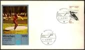 GERMANIA MUNICH 1972 - OLYMPIC GAMES MUNICH 1972 - BADMINTON - Badminton
