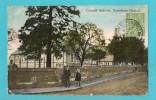 REGNO UNITO DOWNHAM MARKET CONCIL SCHOOLS CARTOLINA FORMATO PICCOLO VIAGGIATA NEL 1917 - England