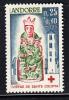 French Andorra Scott #B1 MNH Virgin Of Saint Coloma - Andorre Français