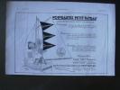 P6 PUBLICITE PETIT BATEAU PAR BEATRICE MALLET  EN 1936 - Publicités