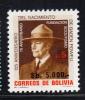 Bolivia Scott #703 MNH 5000b On 5b Lord Baden Powell - Bolivie