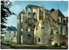 3.00.01.0010 - Abbaye SAINT-WANDRILLE - Ruines De L'Eglise, Vue Prise Est - Non Circulée, Dos Propre - Scan Recto-verso - Saint-Wandrille-Rançon