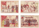 3 Chromos Pour Biscuits Pernot, Dijon, Thème: Militaire, Au Banquet - Pernot