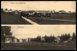 ALTE POSTKARTE GRUSS AUS GRÄFELFING Waldkolonie Bei München Ansichtskarte AK Postcard Cpa - Graefelfing