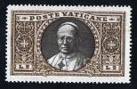 VATICAN 1933  Médaillon De Pie XI  2 Lires * MH - Neufs