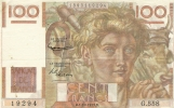 100 Francs Jeune Paysan Type 1945 - 1871-1952 Anciens Francs Circulés Au XXème