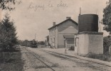 LIGNY  Le  CHATEL  -  La  Gare - Ligny Le Chatel