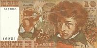 10 Francs Berlioz Type 1972 - 1962-1997 ''Francs''