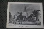 CPM MARSEILLE LA PLACE DU CALVAIRE  13 BOUCHES DU RHONE >>  VERSO VIERGE  DESSIN DE JARRY 1837 - Marseille