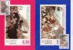 Portugal 1981. Paintings Stamp On Wonderful Maximum Card 2 Pieces - Cartoline Maximum
