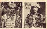 Igorot Old Man And A Trinidad Girl - Filippijnen