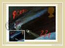 """GB 1986 : CM Y&T N° 1215 """" LA COMETTE DE HALLEY ET LE SATELLITE GIOTTO """" + Prix Dégressif. - Astronomie"""