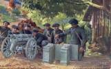 THEMES - MILITARIAT - En Guerre - Canon De 65 De Montagne Des Alpins - Regiments