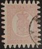 14553- FINLANDIA - N. 9 - U - F. OL - Used Stamps
