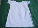 Chemise De Nuit -grand Mere  Pour  Theatre -tour Poitrine 110cm-hauteur 85 Cm-monogramme C T -ref 14 - Vintage Clothes & Linen