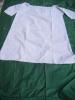 chemise de nuit- -grand mere pour  theatre- -tour poitrine  134cm-hauteur 99 cm- monogramme M M-ref 17