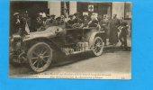 Guerre De 1914 Mme Macherez Qui Administra Soissons Pendant L'occupation Allemande N°170 (pli à Droite ) - Personnages