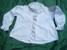 Chemisier - Pour  Theatre -tour Poitrine  96cm- Hauteur 48 Cm- Belle Broderie -ref 20 - Vintage Clothes & Linen