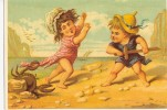 Humoristique   Enfants- Scene  Marine - Humorous Cards