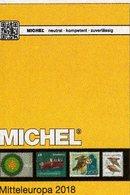 Mittel-Europa 2018 Katalog Band 1 MICHEL New 72€ Europe With Austria Schweiz UN Genf Wien CZ CSR Ungarn FL Slowakei - Telefoonkaarten