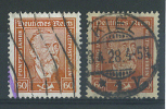 VEND TIMBRES D ´ ALLEMAGNE , N° 362y + 362x - Deutschland