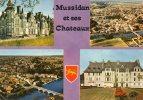 (24) MUSSIDAN Et Ses Chateaux, Multivues Vue Générale, 1973 (Dordogne) - Sin Clasificación