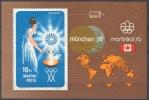 HUNGARY - 1973. Hungarian Medal-winners Olympic Games, Munich S/S-MNH - Blocks & Kleinbögen