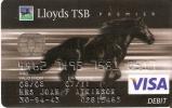 TARJETA VISA DE LLOYDS BANK (CABALLO-HORSE) - Non Classificati
