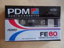 K7 AUDIO  VIERGE  PDM FE 60  FERRO MAGNETIC 60 Min. Neuve Sous Blister - Cassettes Audio