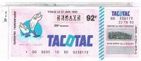 BILLETS LOTERIE NATIONALE  TACOTAC  1990 ....LO84 - Billets De Loterie