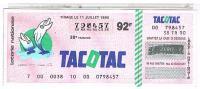 BILLETS LOTERIE NATIONALE  TACOTAC  1990 ....LO114 - Billets De Loterie